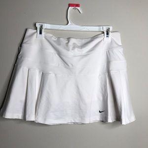 Nike Dri-Fit Pleated Tennis Skirt White